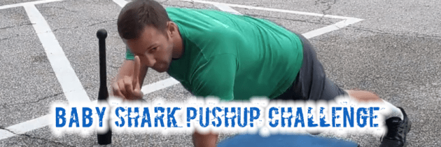 Baby Shark Push-up Challenge