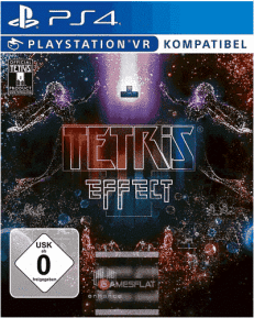 Tetris Effect PS-4 VR kompatibel