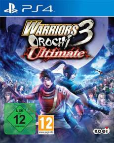 Warriors Orochi 3 Ultimate DISC USK PS4