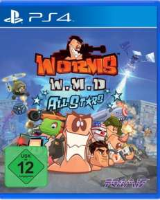 Worms Weapons of Mass Destruction DISC USK PS4