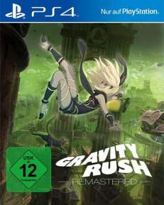 Gravity Rush Remastered DISC USK PS4