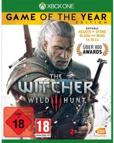 Witcher 3 GOTY DISC USK XBOX