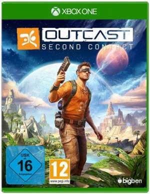 Outcast Second Contact DISC USK XBOX