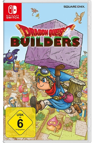 Dragon Quest Builders CARD USK Switch