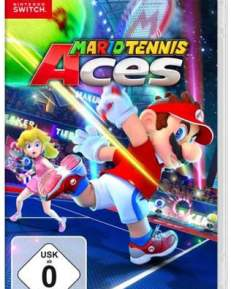 Mario Tennis Aces CARD USK Switch