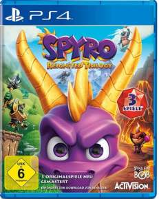 Spyro Reignited Trilogy DISC USK PS4
