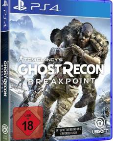 Ghost Recon Breakpoint DISC AT/DE PS4