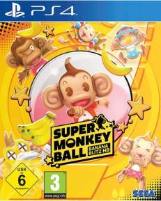 Super Monkey Ball Banana Blitz  DISC USK PS4