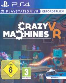 VR Crazy Machines DISC USK PS4