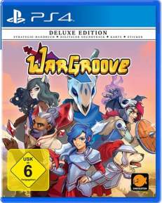 WarGroove Deluxe Edition DISC USK PS4