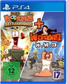 Worms Battlegrounds + W.M.D. DISC USK PS4