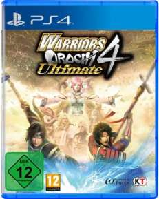 Warriors Orochi 4 Ultimate DISC USK PS4