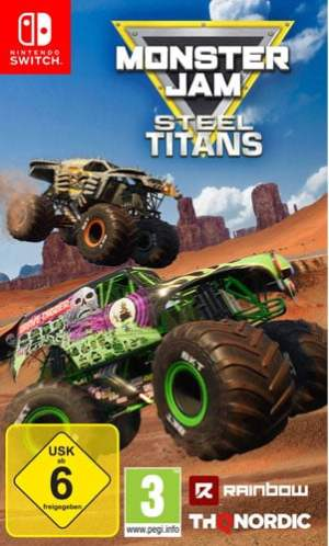 Monster Jam Steel Titans CARD USK Switch