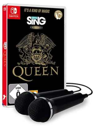 Lets Sing   Queen  SWITCH  incl. 2 Mics