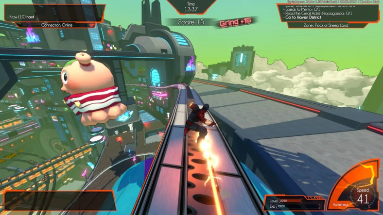 Hover, A New Multiplayer Parkour Game, Launching on PS4