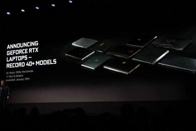 Nvidia RTX Mobile GPU