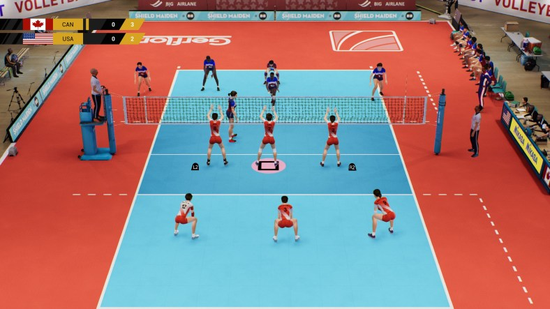 Review Spike Volleyball