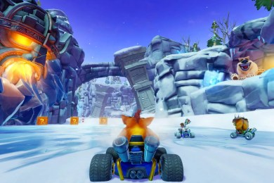 Crash Team Racing Nitro-Fueled Boost