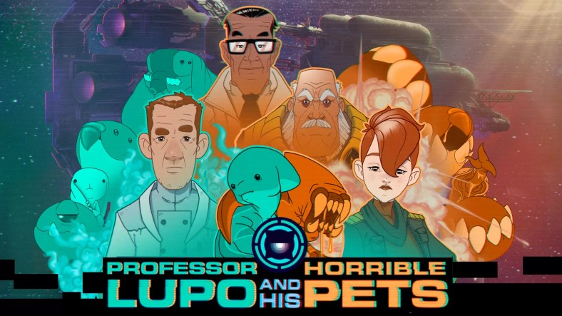 Review: Professor Lupo and His Horrible Pets