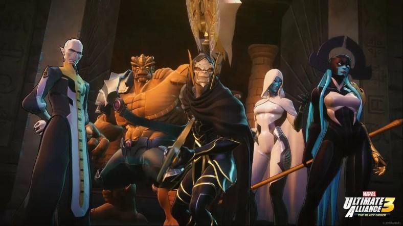 Marvel Ultimate Alliance 3 Security Gates