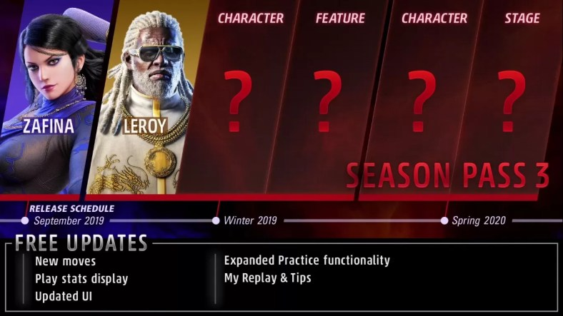 Zafina And Leroy Are Joining The Roster Of Tekken 7 In Season 3