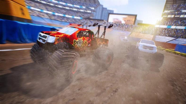 Trailer Kejuaraan Truk Monster