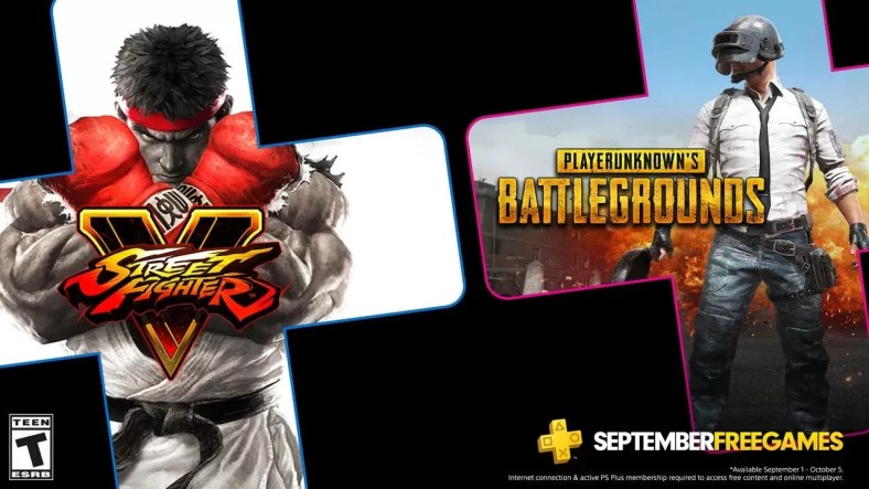 PS Plus Games September