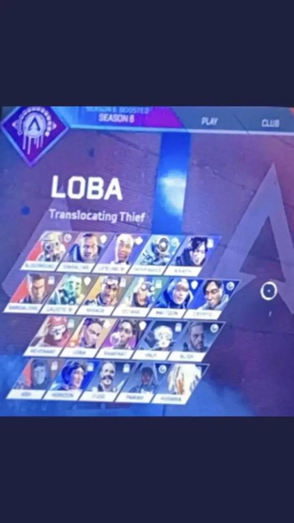Karakter Apex Legends
