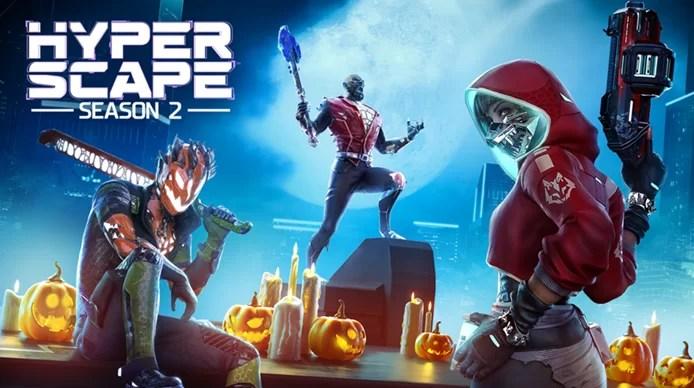Acara Halloween Hyper Scape