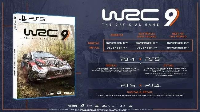 WRC 9 Pembaruan Konten