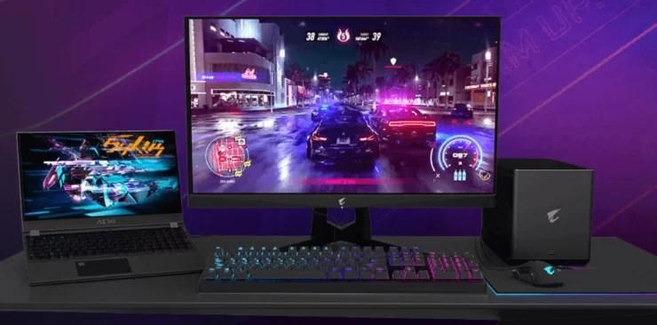 Aorus Gaming Boxes RTX