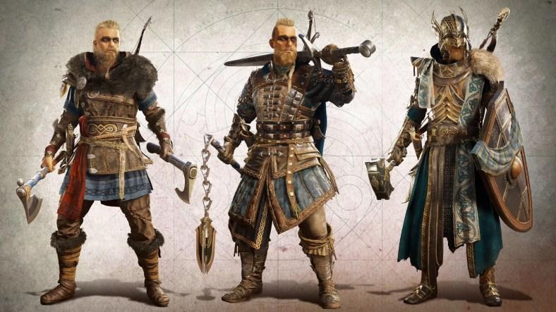 Panduan Lokasi Gear Valhalla Raven Assassin's Creed