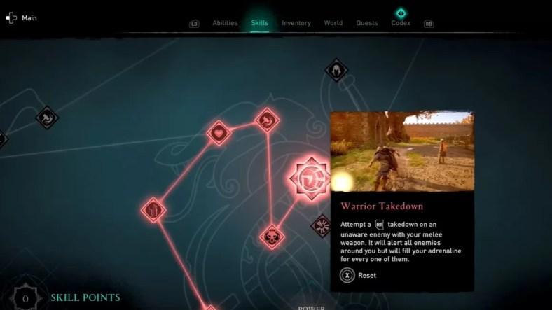 Panduan Keterampilan Valhalla Assassin's Creed
