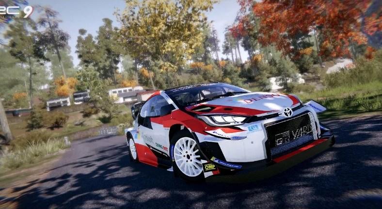 WRC 9 Toyota GR Yaris Rally Concept Trailer