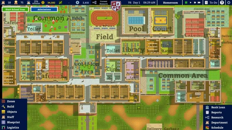 Academia: Simulator Sekolah