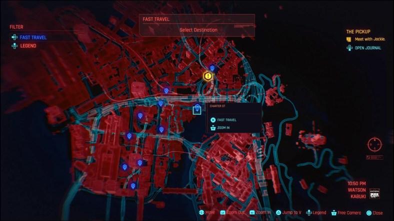 Panduan Perjalanan Cepat Cyberpunk 2077