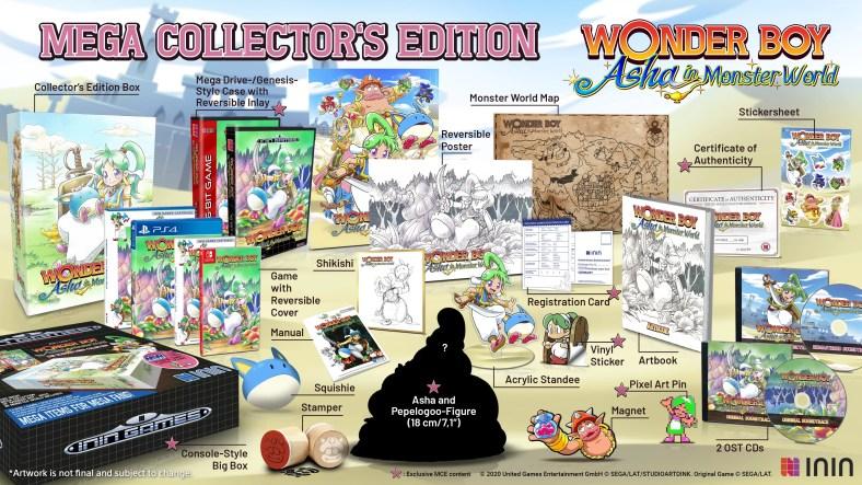 Wonder Boy Asha di Monster World