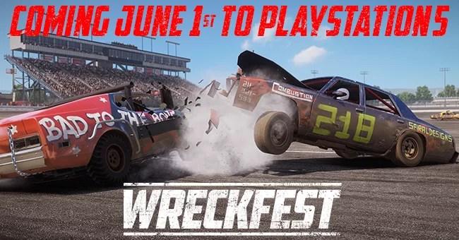 Wreckfest PlayStation 5