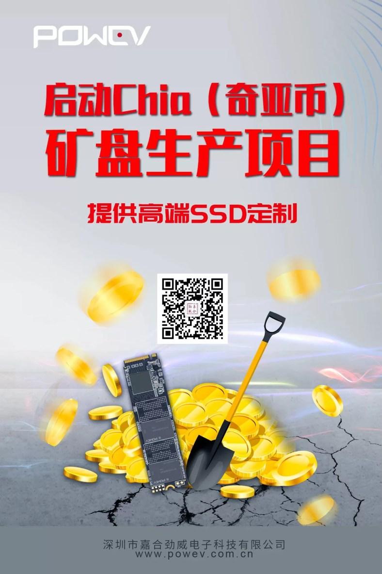 SSD Chia Coin