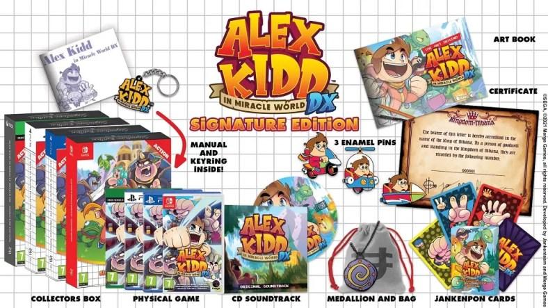 Alexx Kidd di Miracle World DX