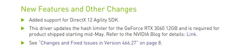 Tingkat Hash Nvidia RTX 3060
