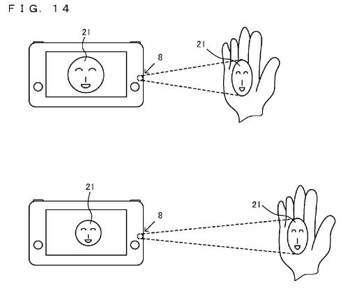 Outro desenha da patente para o controle da Nintendo