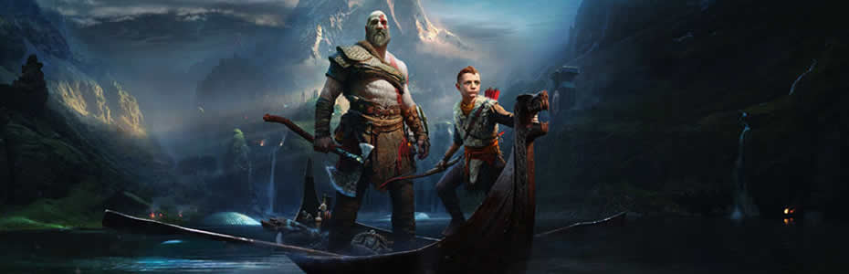 Pré-venda do novo God of War para PlayStation 4