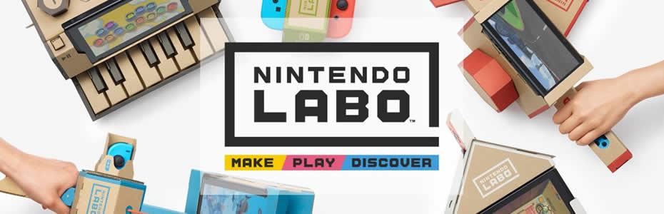 Conheça o Nintendo Labo