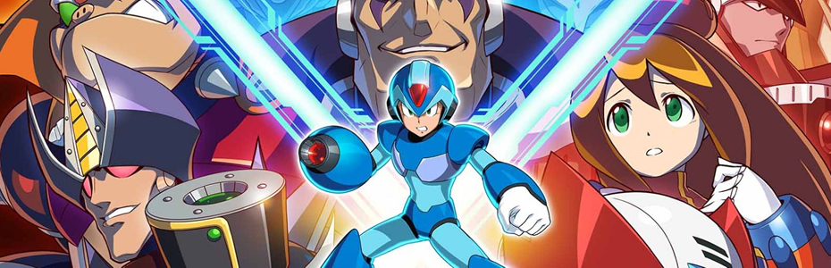 "Mega Man X Legacy Collection terá novo modo de jogo ""Rookie Hunter"""
