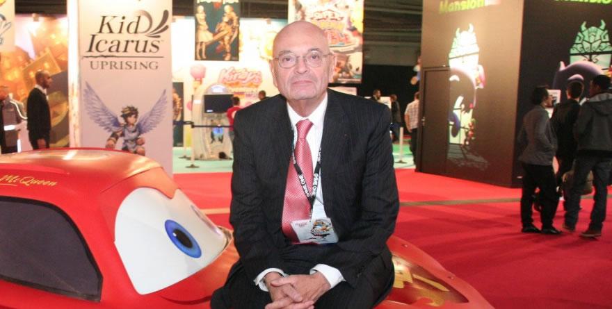 Jean-Claude Larue n'aime pas le jeu vidéo ? (Paris Games Week)