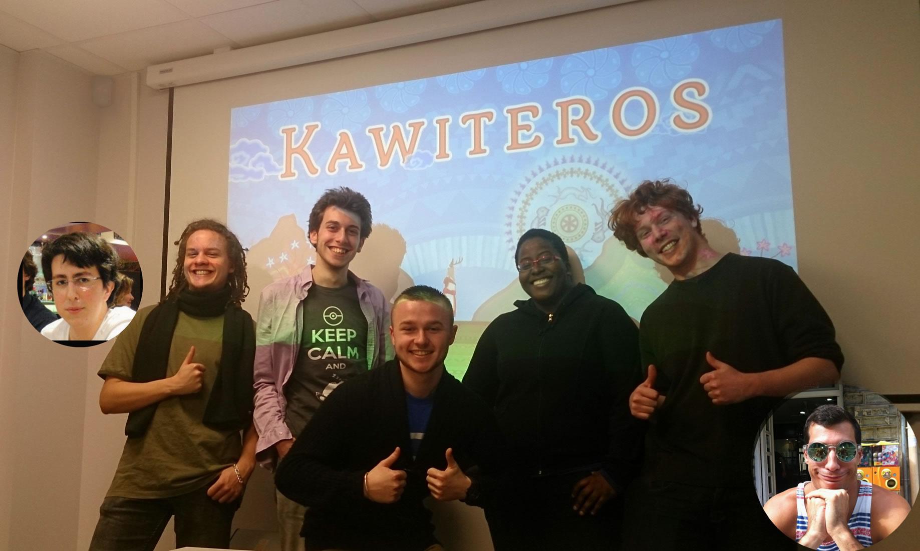 Interview – L'équipe de Kawiteros (Nova Play 2014)