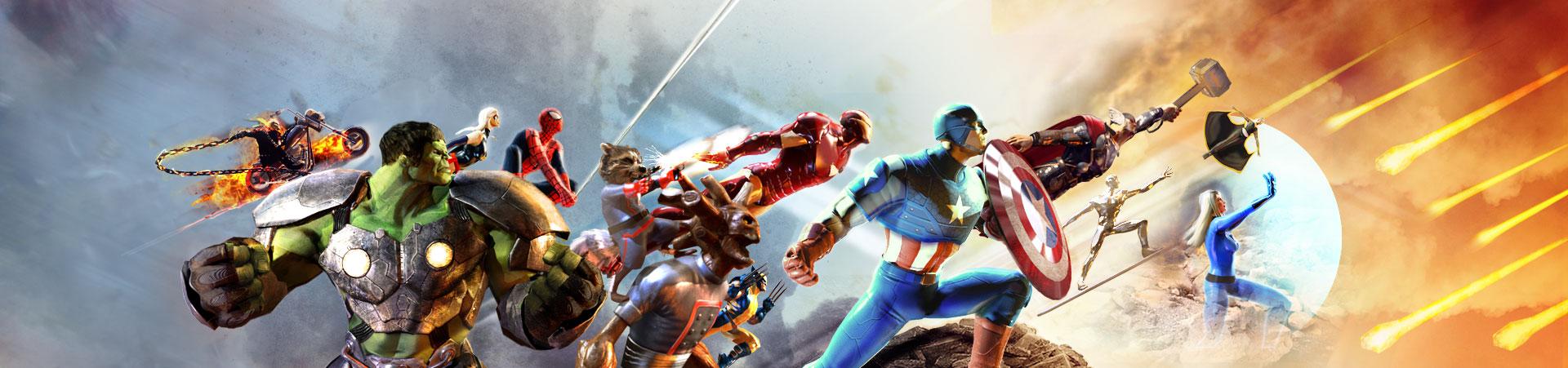 Les jeux Marvel du Comic-Con 2014