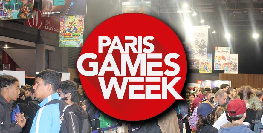 Quelques jeux de la Paris Games Week 2017