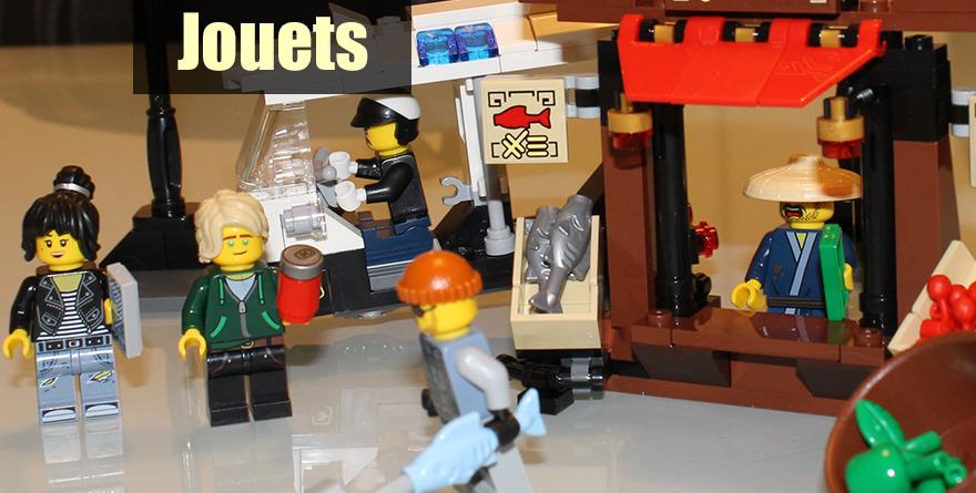 LEGO Ninjago: La Poursuite dans la Ville